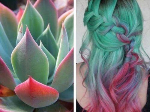 el color de moda para el cabello