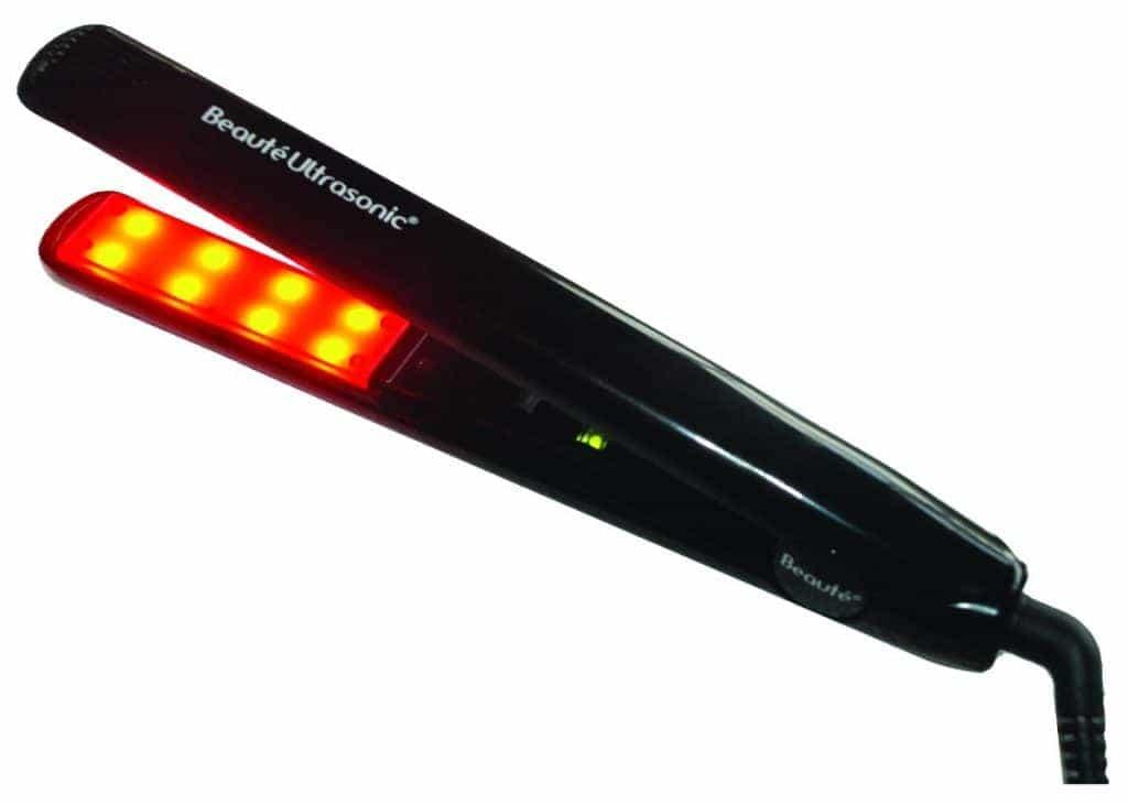 plancha con calor infrarrojo