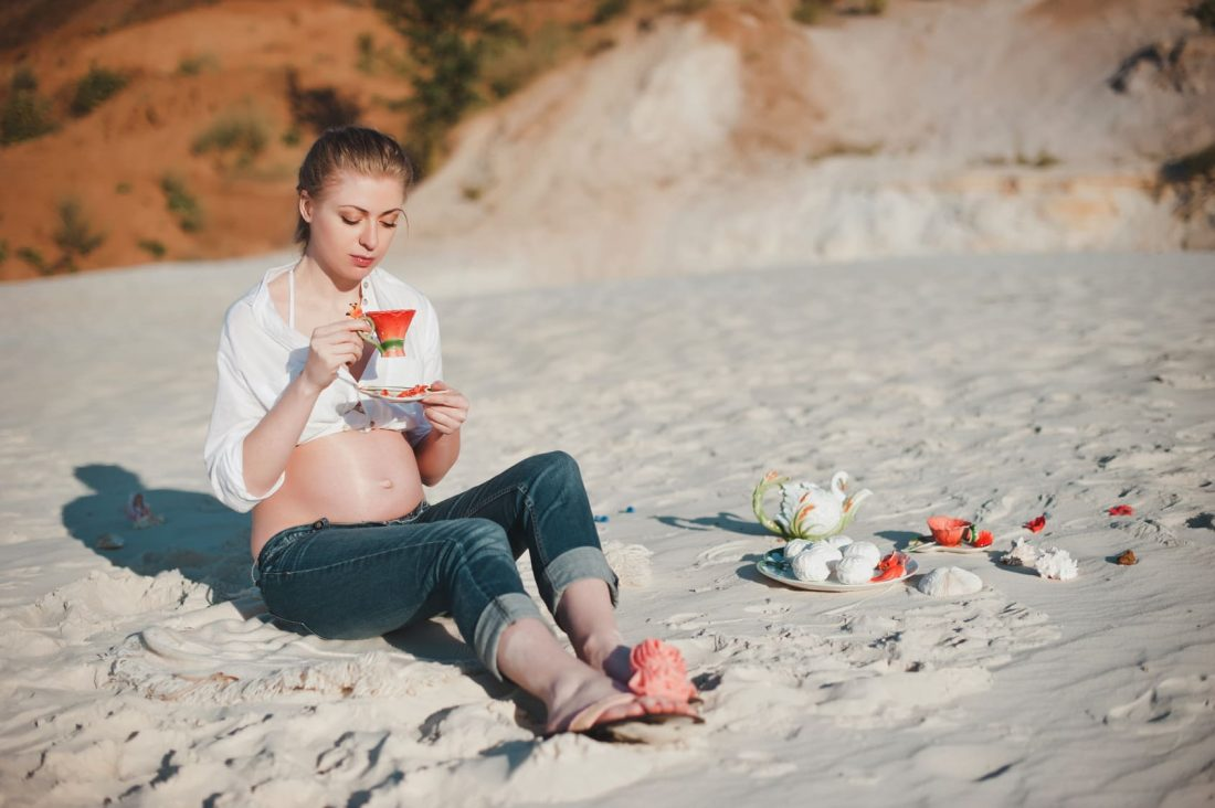 disfrutar embarazo saludable