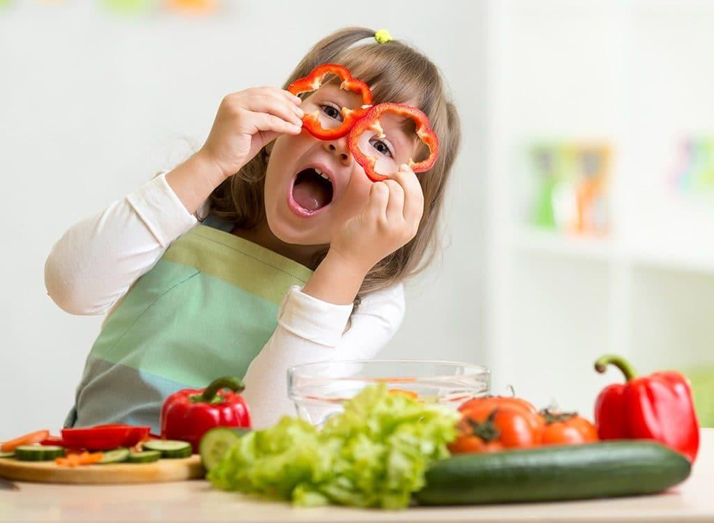 mejorar la nutrición de los niños