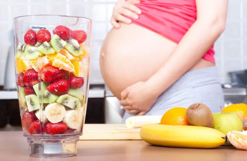 alimentación embarazo saludable