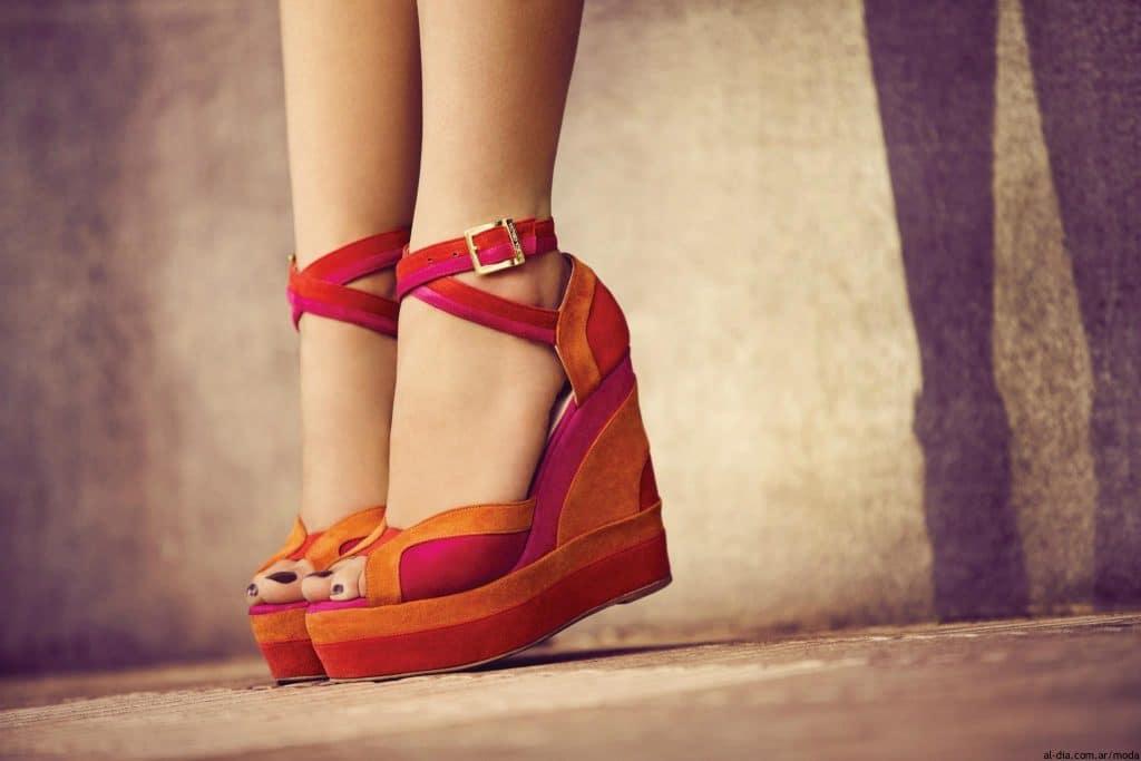 cómo escoger calzado con plataformas