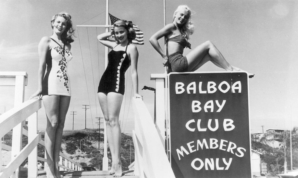 Moda bikinis retro y vintage