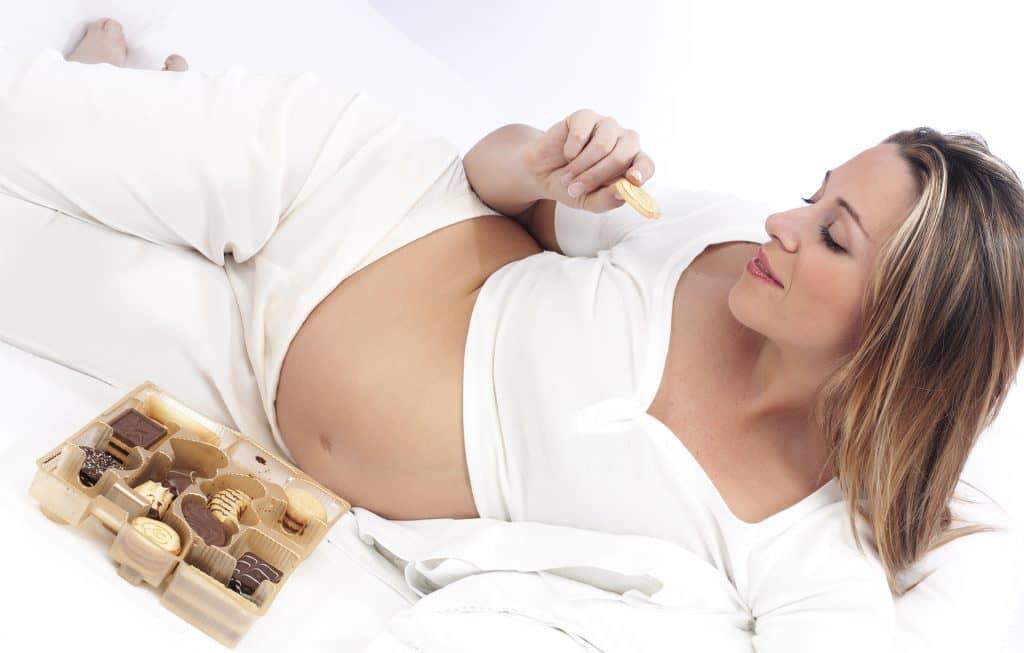 Incontrolables antojos durante el embarazo