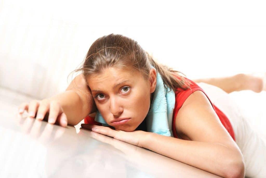 cuáles son los errores con el ejercicio