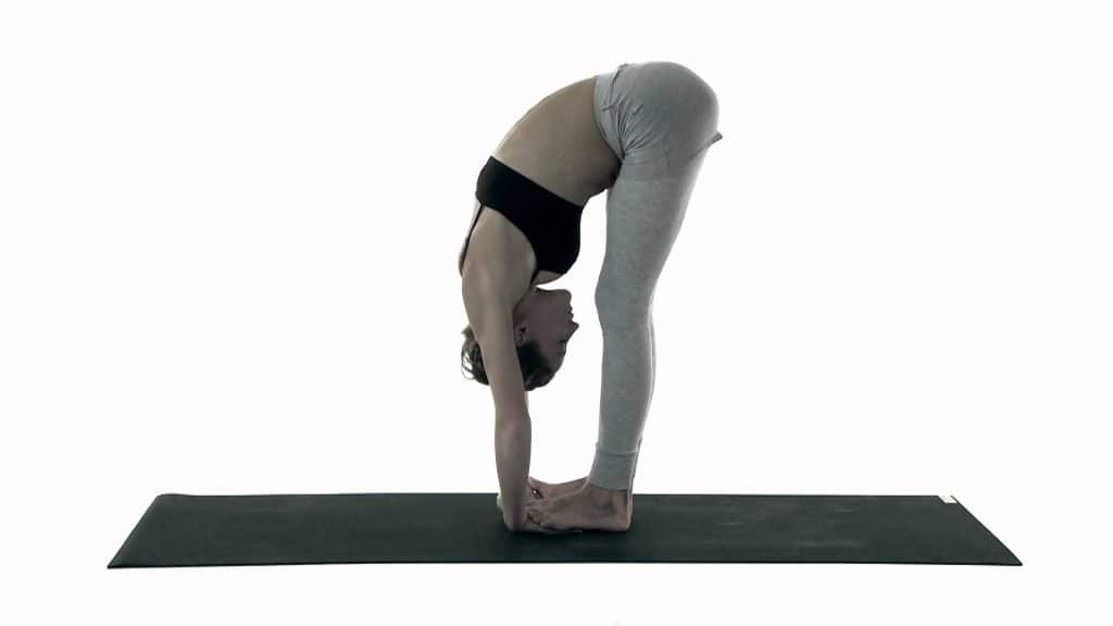 postura cigueña yoga