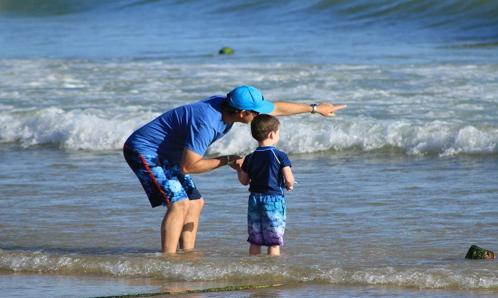 las vacaciones para los hijos