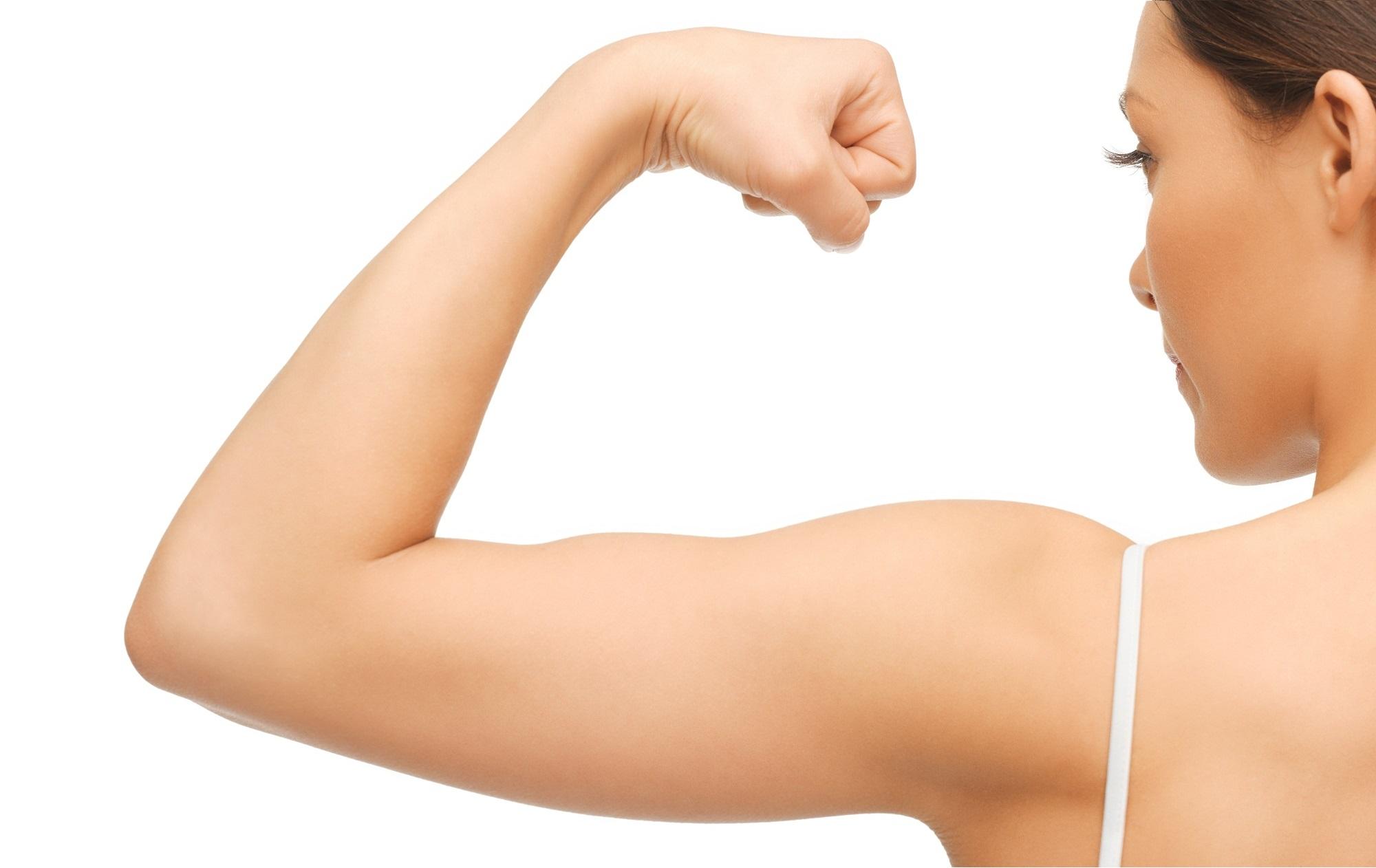 brazos femeninos