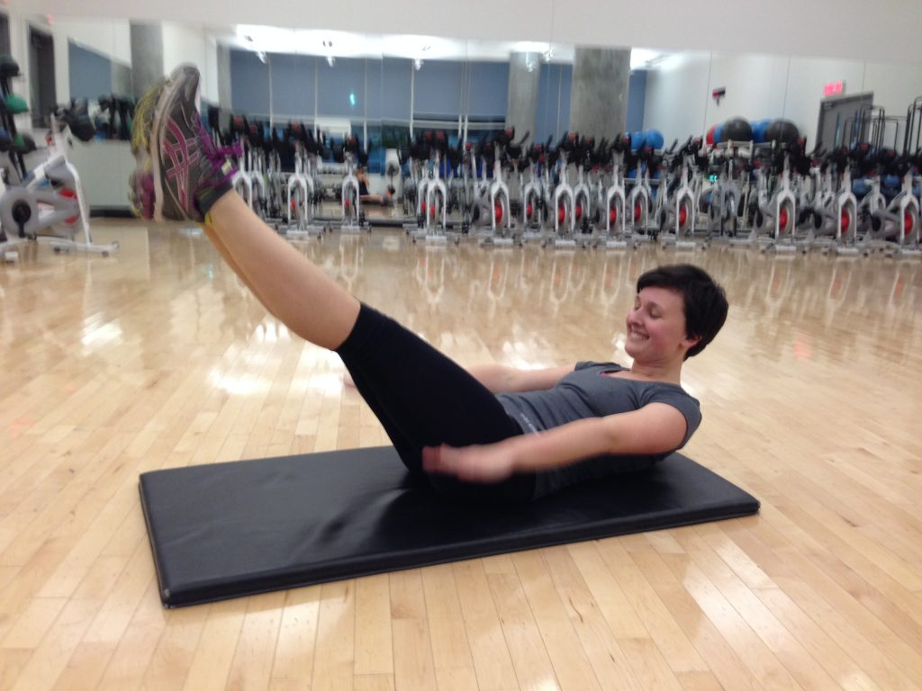pilates para aplanar el abdomen