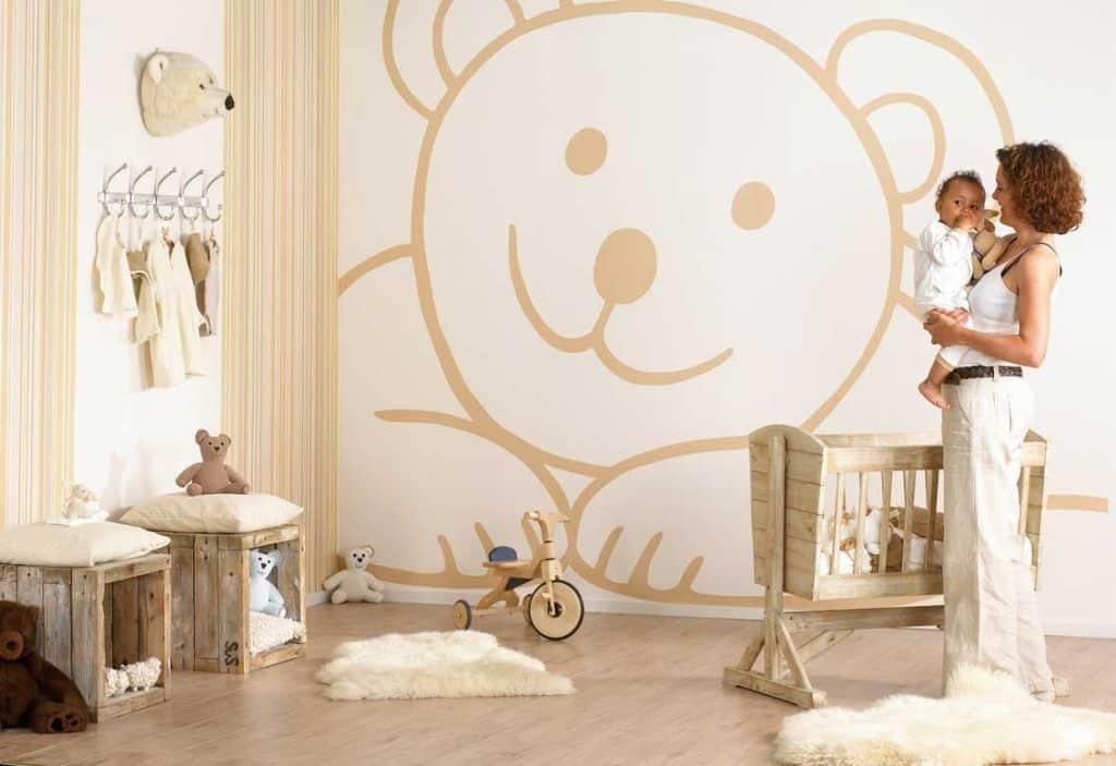 Conoce una habitación decorada para un recién nacido