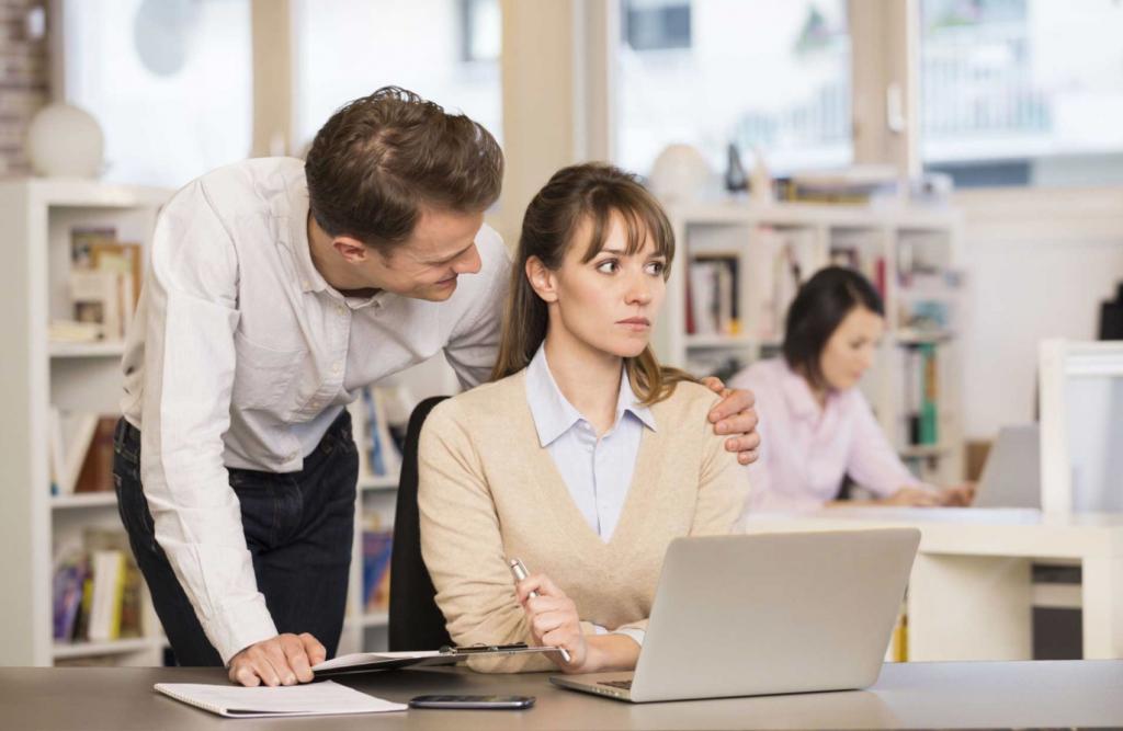Reconoce el acoso sexual en el trabajo