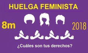 Huelga feminista 8M ¿Puedo secundarla sin represalias laborales?