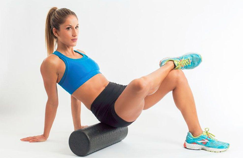 utilizar el rodillo de espuma o foam roller
