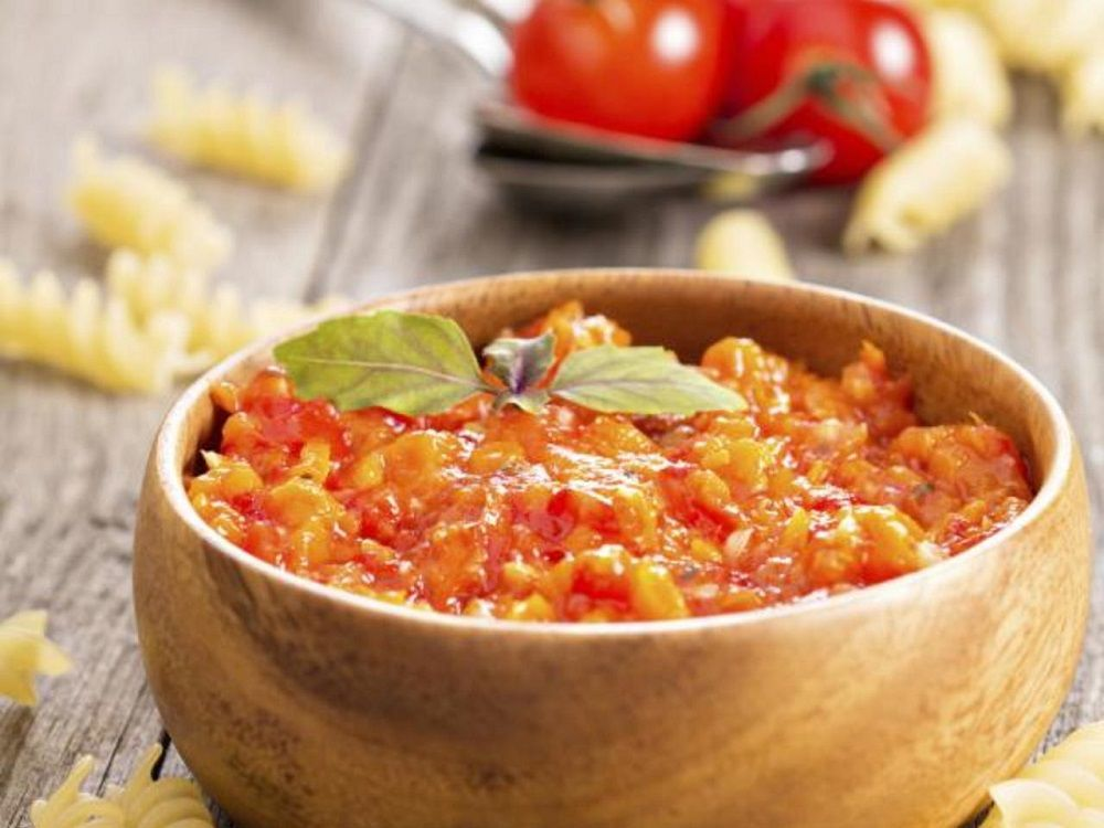 salsa de verduras