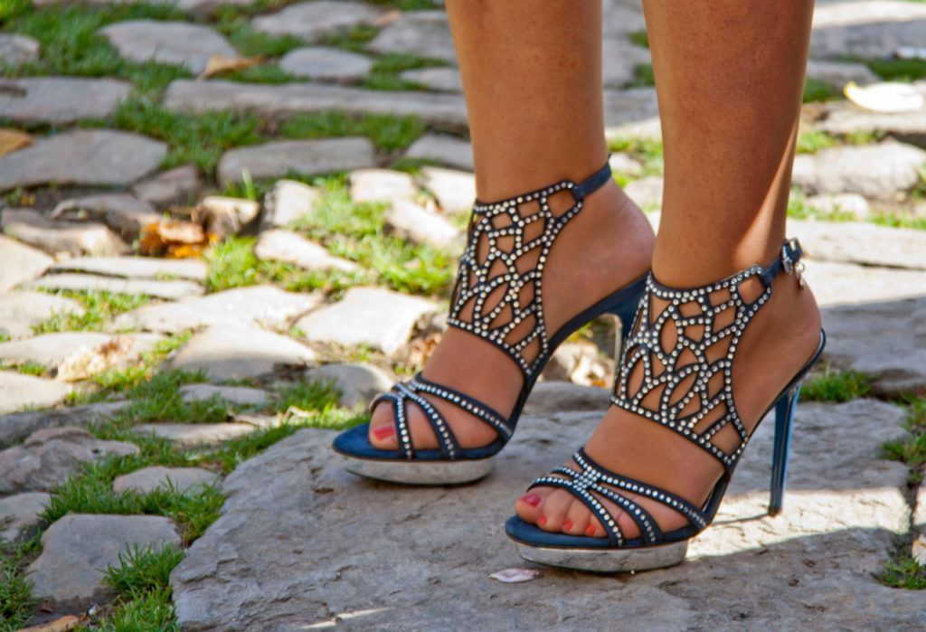 zapatos de tacón, tendencia 2018