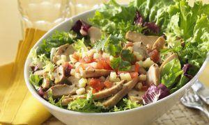 Ensaladas altas en proteína