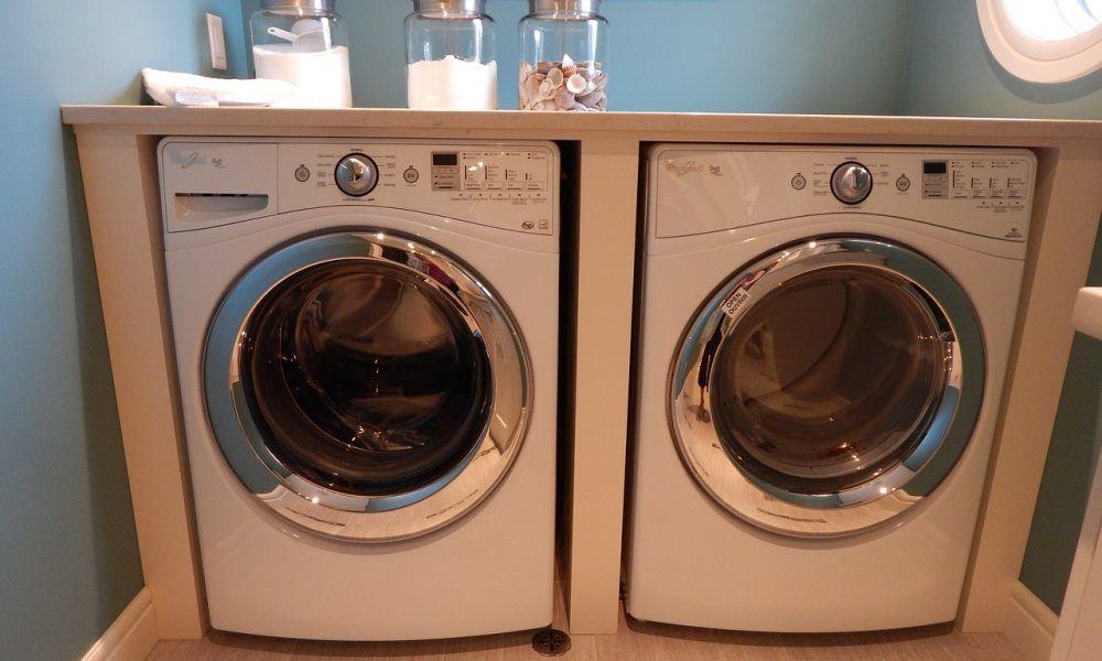 ocultar la lavadora integrada en casa