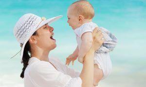 Acné neonatal cuidado del bebé