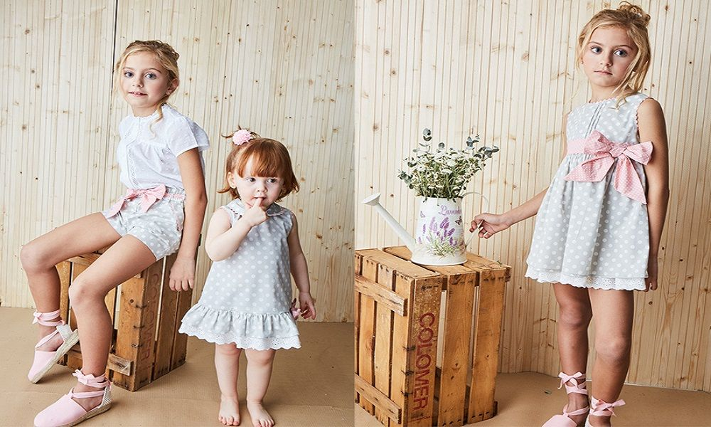 moda para niños lunares