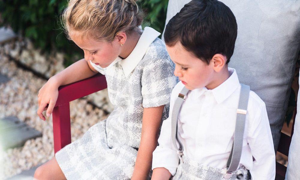 Telas de textura y estampados para niños