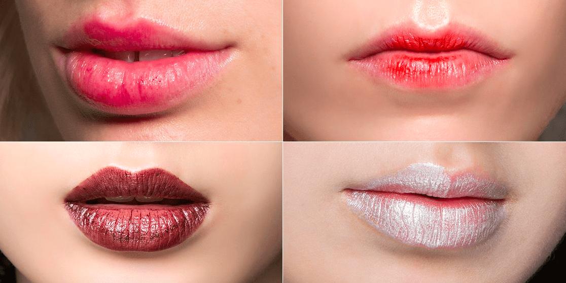 nueva moda labios mordidos