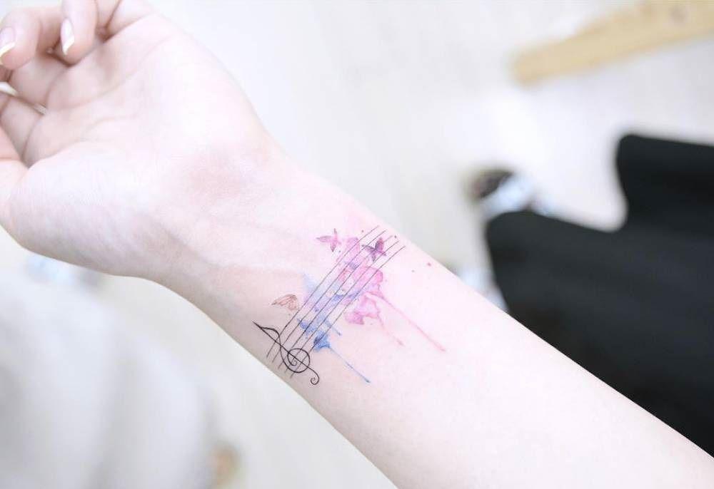Tatuaje musical