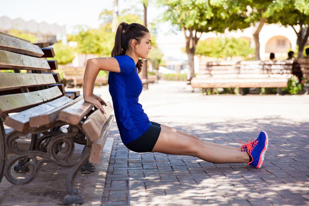 ejercicio para fortalecer los triceps