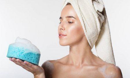 tipos de esponja de baño