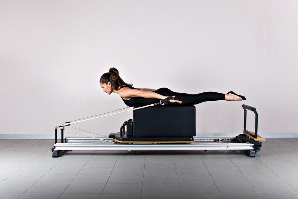 ejercicios con maquinas de pilates