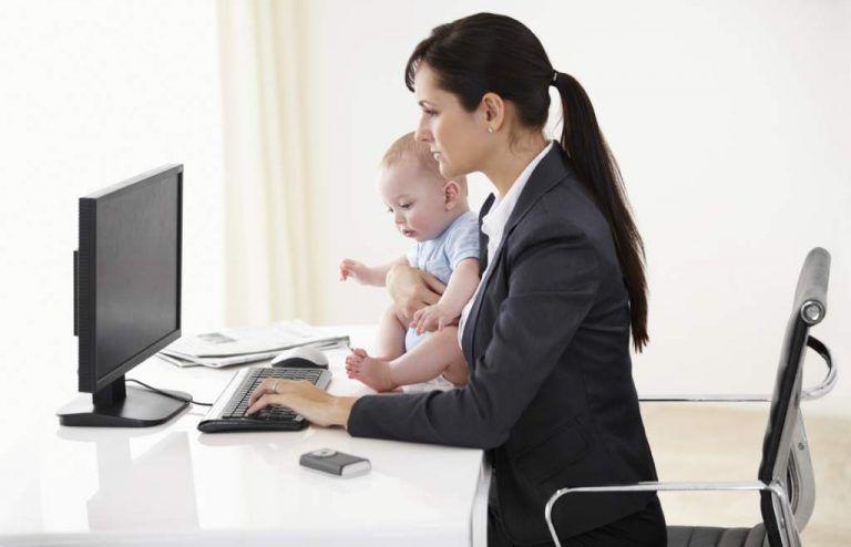 Reducción de jornada por maternidad