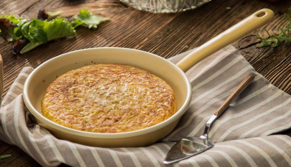 Tortilla de patata receta