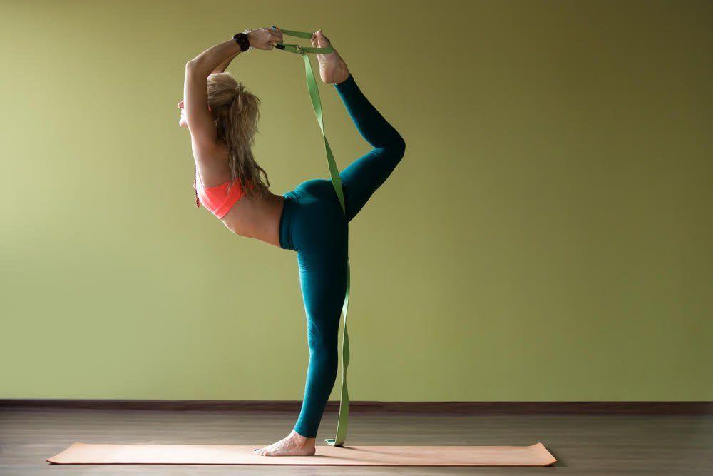 correas para hacer yoga
