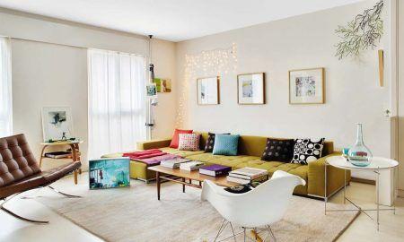 combinar sofás y bancos con el resto de la decoración