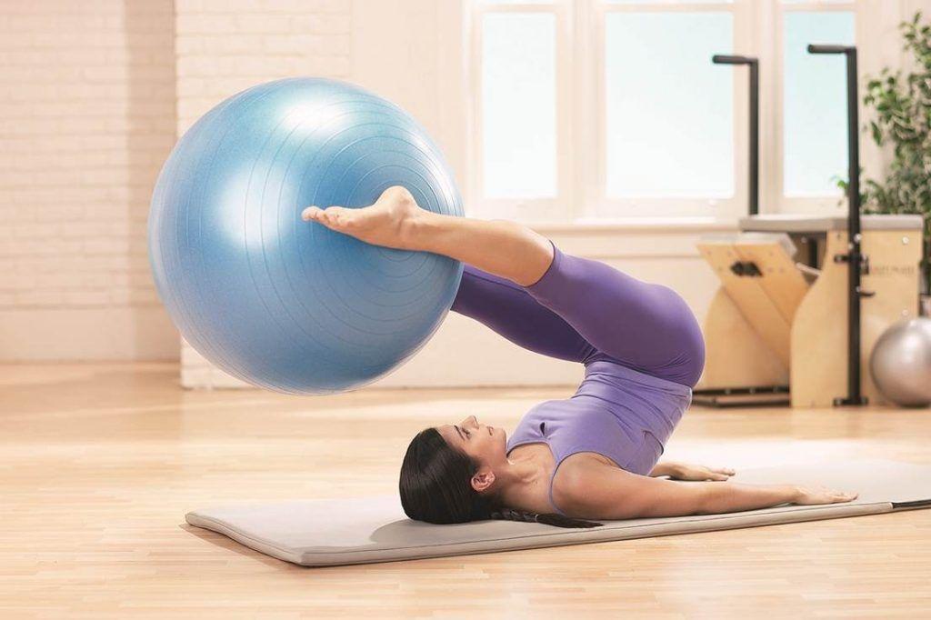 pelota para hacer yoga