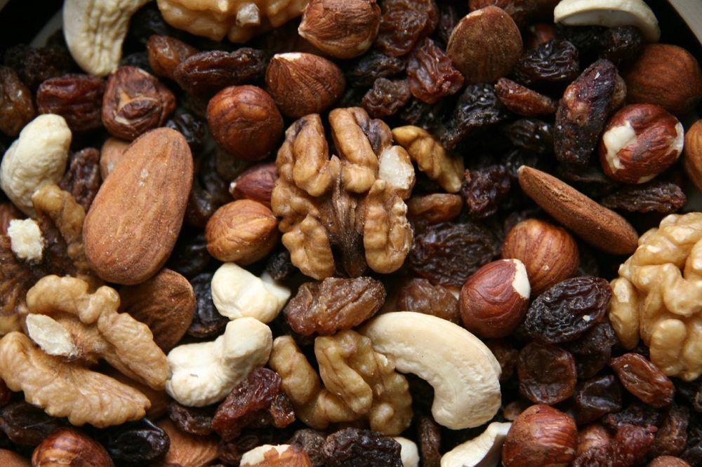 Vitaminas frutos secos