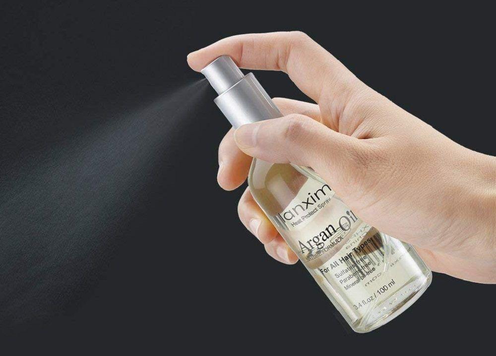 protector solar para el pelo en spray