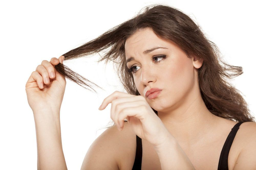 cabello dañado