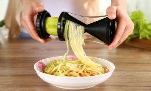 5 recetas con espirales de verduras muy saludables y sabrosas