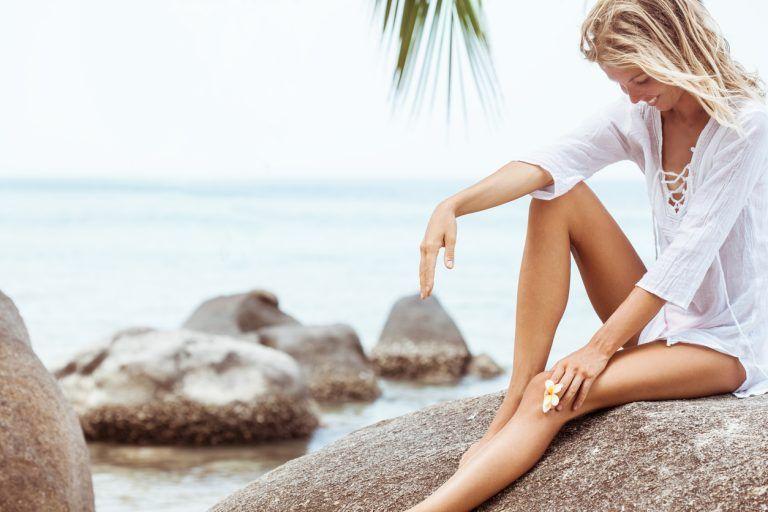 Cuidado de la piel con presoterapia
