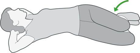 Estiramiento de la espalda