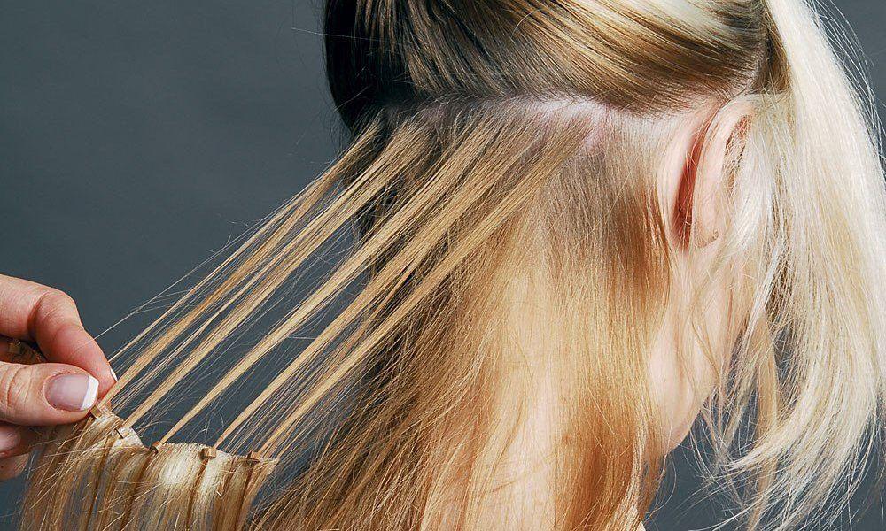 Cabello con extensiones para disimular la alopecia