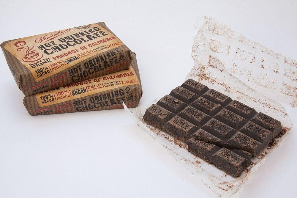 El chocolate contiene antioxidantes