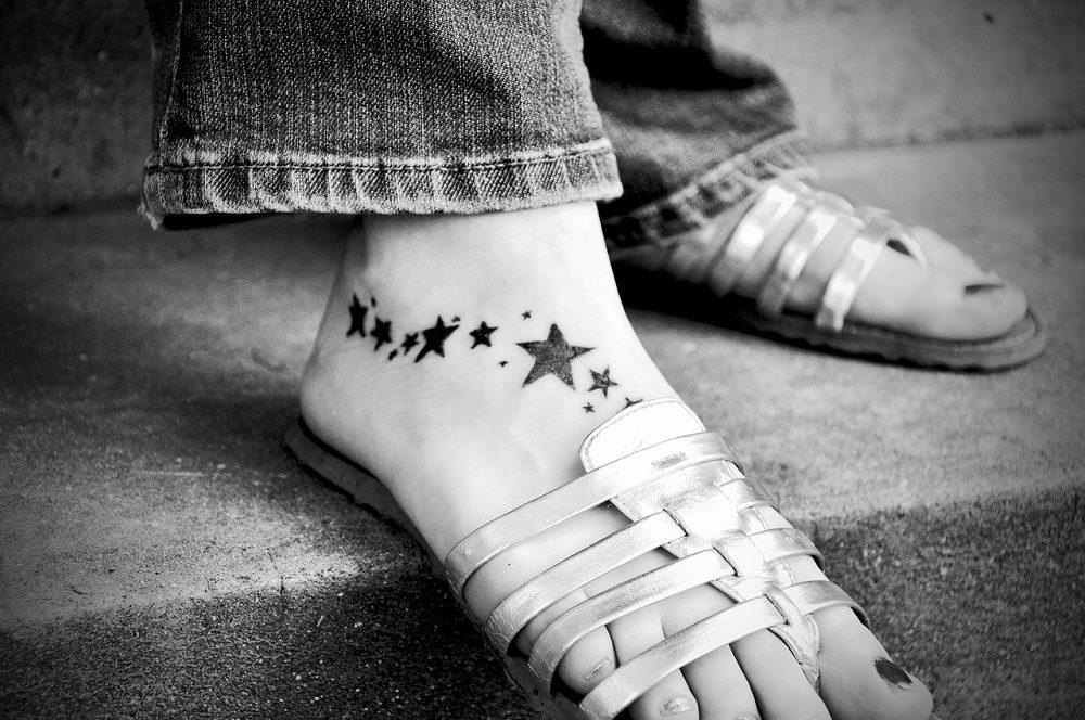 Tatuarse en el pie