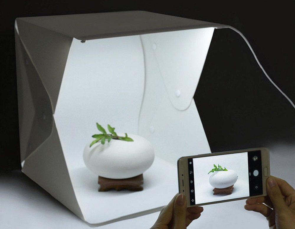 Caja de luz LED portátil