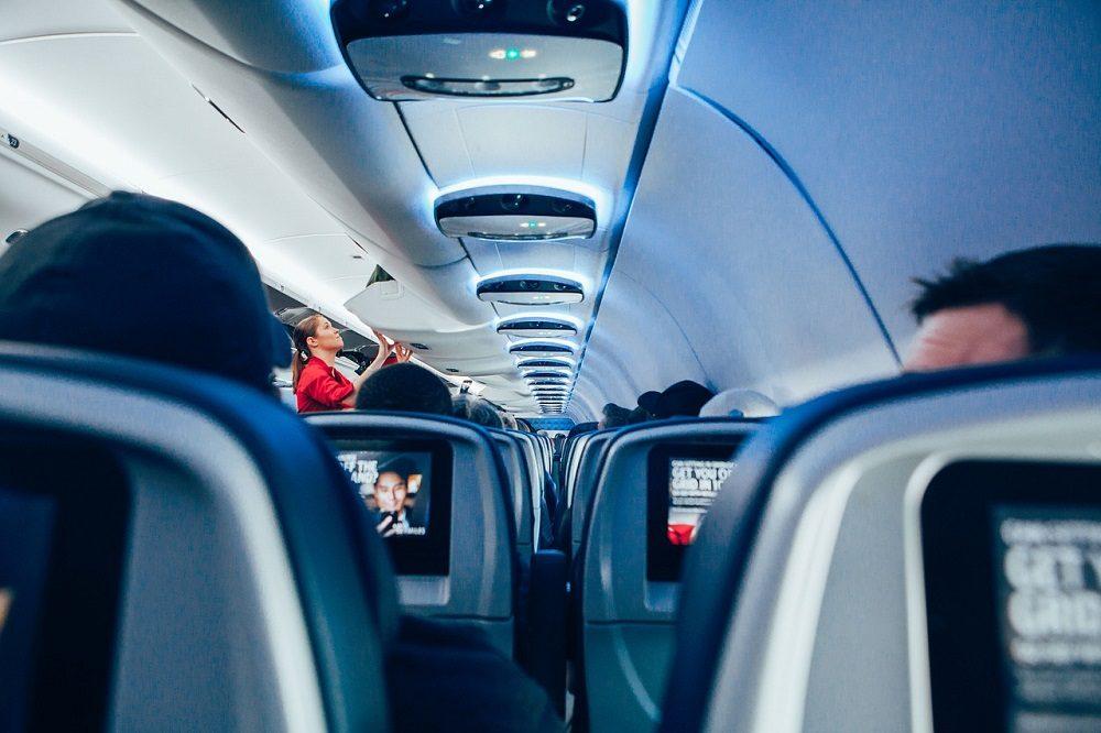 Entretenimiento a bordo del avión