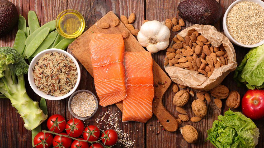 Alimentos que hay que consumir en una dieta saludable