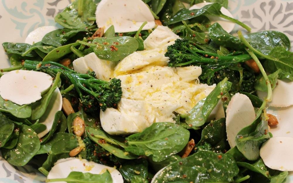 recetas de ensaladas con espinacas