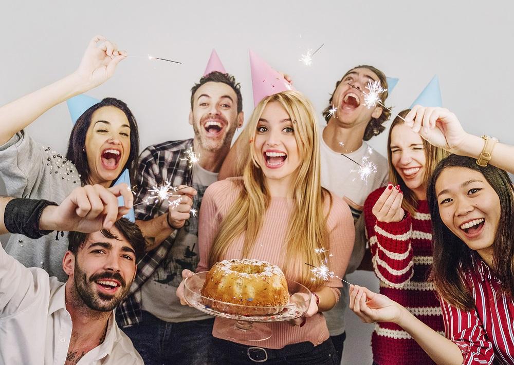 Fiesta de cumpleaños sorpresa
