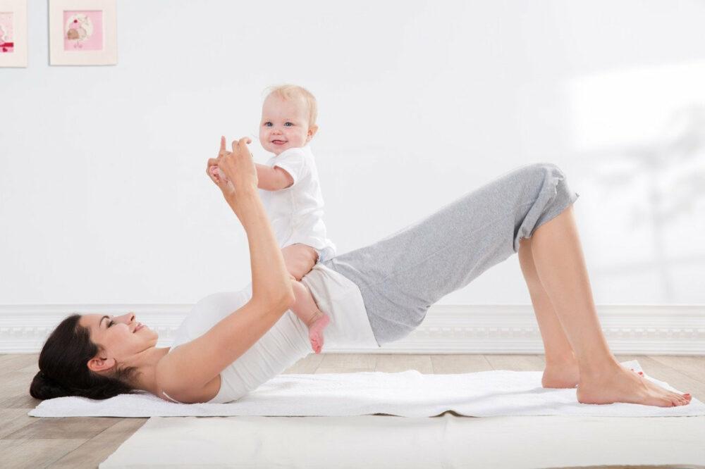 mejores ejercicios posparto para tonificar glúteos