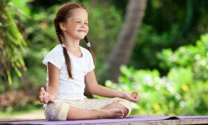 los beneficios de la meditación en los niños